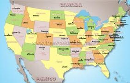 US Geography This Is Our HiStory - Us political map quiz